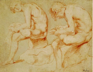 Drawing by Rubens